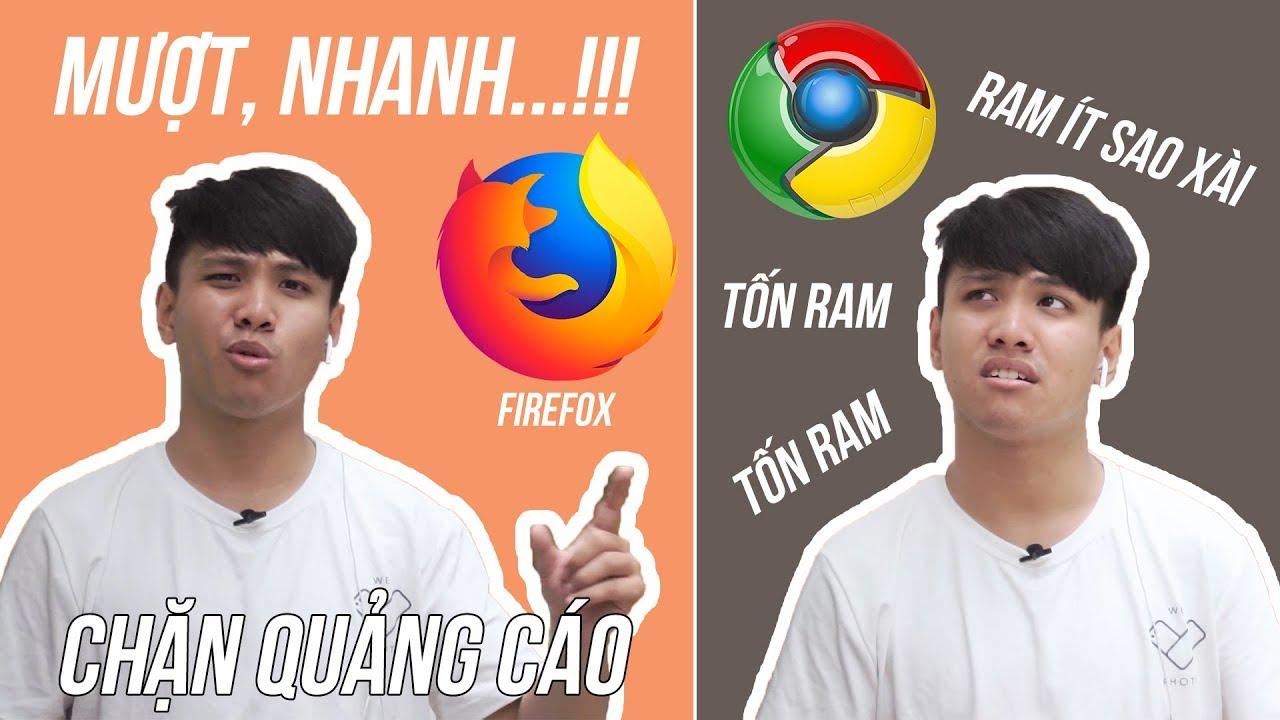 """Smartphone """"NÊN"""" dùng trình duyệt Firefox thay vì Google Chrome!"""