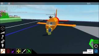 Avión ROblox Loco Cómo hacer plano básico