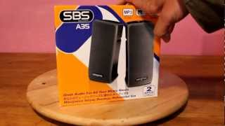 Creative SBS A35 Speaker Unboxing and Overview