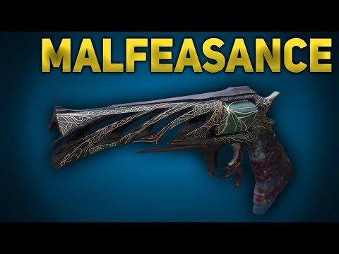 How to Get Malfeasance Exotic Hand Cannon & Quest Steps (Destiny 2 Forsaken)