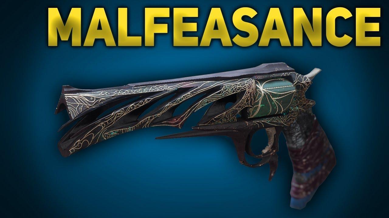 70ff3a356c6 How to Get Malfeasance Exotic Hand Cannon   Quest Steps (Destiny 2 Forsaken)