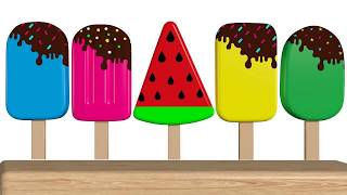Learn colors Ice Cream  | ice cream song |colors for Babies | Video for Kids