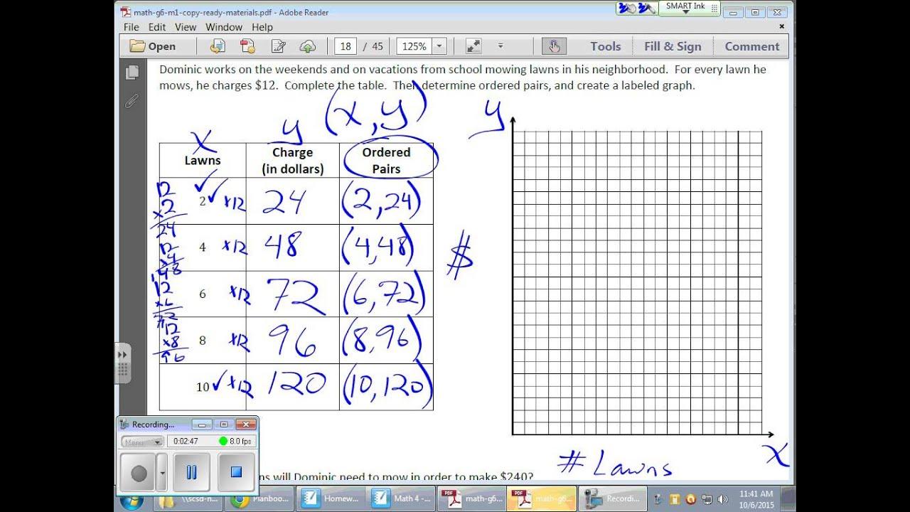 Grade 6 Module 1 Lesson 14