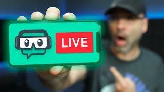 Streamlabs Mobile App Tutorial - Live Streaming App