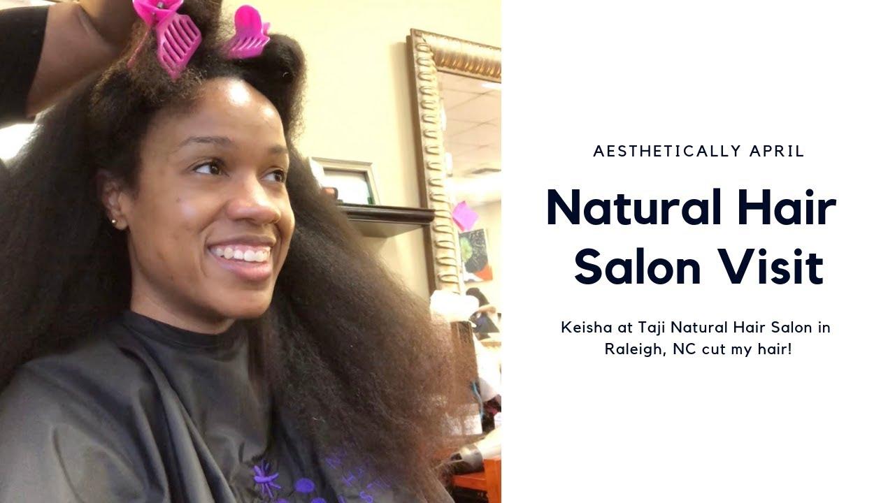 Natural Hair Salon Visit Taji S Natural Hair Salon Hair Vlog Naturalhair Naturalhairsalon Youtube