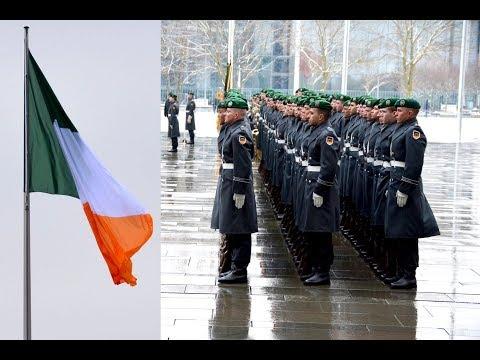 Ehrenkompanie - Irischer Ministerpräsident - Militärische Ehren