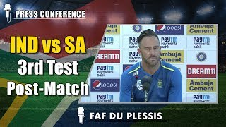 Had no answers to India's ruthless performance - Faf du Plessis