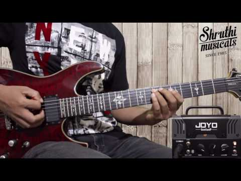 JOYO ZOMBIE BANTAMP DEMO- 11th hour (Lamb of god) | Shruthi Musicals