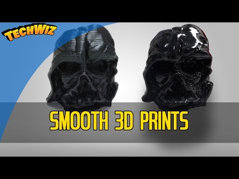 Effective and Safer 3D Print Smoothing with Epoxy not Acetone