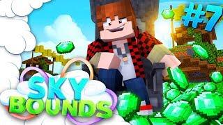 SAVE THE PLEBS! | SKYBOUNDS ISLAND #7 (Minecraft SkyBlock SMP)