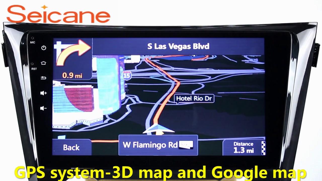 2013 2014 2015 Nissan Qashqai Aftermarket Gps Navigation