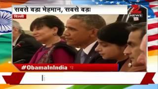 Hyderabad House: US President Obama, PM Modi at bilateral talks