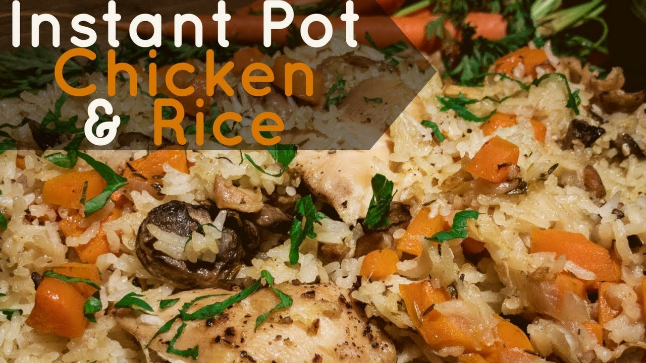 How To Cook Rice In Instant Pot With Other Food
