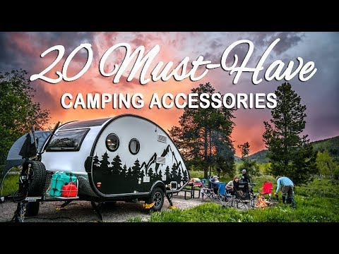 20 Must-have Camping Accessories For RV Owners!