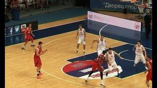 Сборная России по баскетболу выиграла у швейцарцев!
