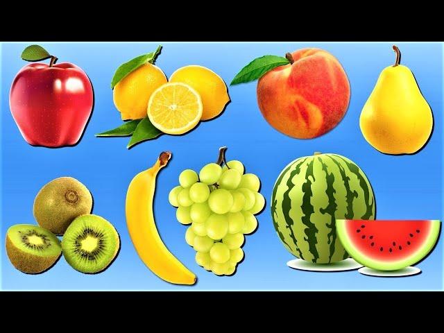 Learning Fruits Names for Children! Preschool Videos for Kids @Little Angels - Preschool