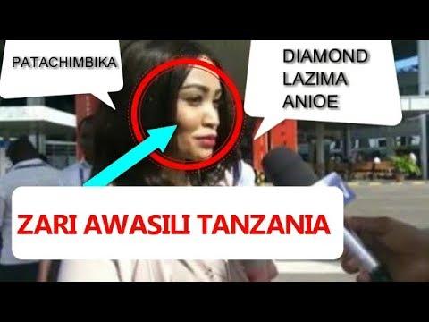 KIMENUKA! ZARI Amekuja Tanzania kwa  DIAMOND Baada Ya video zake chafu (ATETEMESHA)