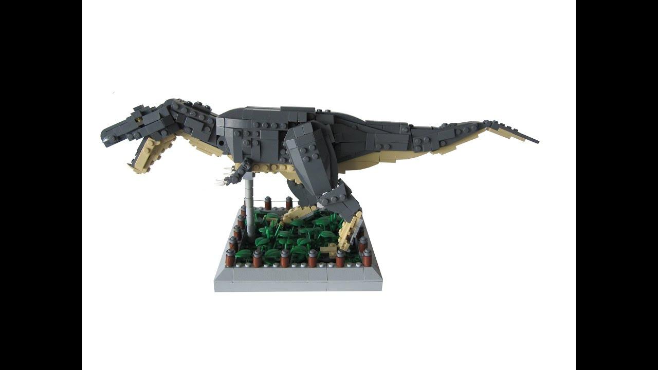 Lego tyrannosaurus rex moc youtube - Lego dinosaurs spinosaurus ...