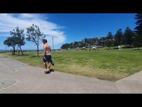 Bronte beach walk 4K ¤ SYDNEY