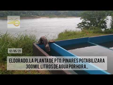 CONTINÚA LAS PRUEBAS HIDRÁULICAS CON ÉXITO DE LA PLANTA POTABILIZADORA DE AGUA DE PTO. PINARES.