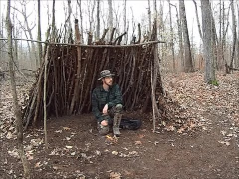 A Wilderness Survival Lean To That Works
