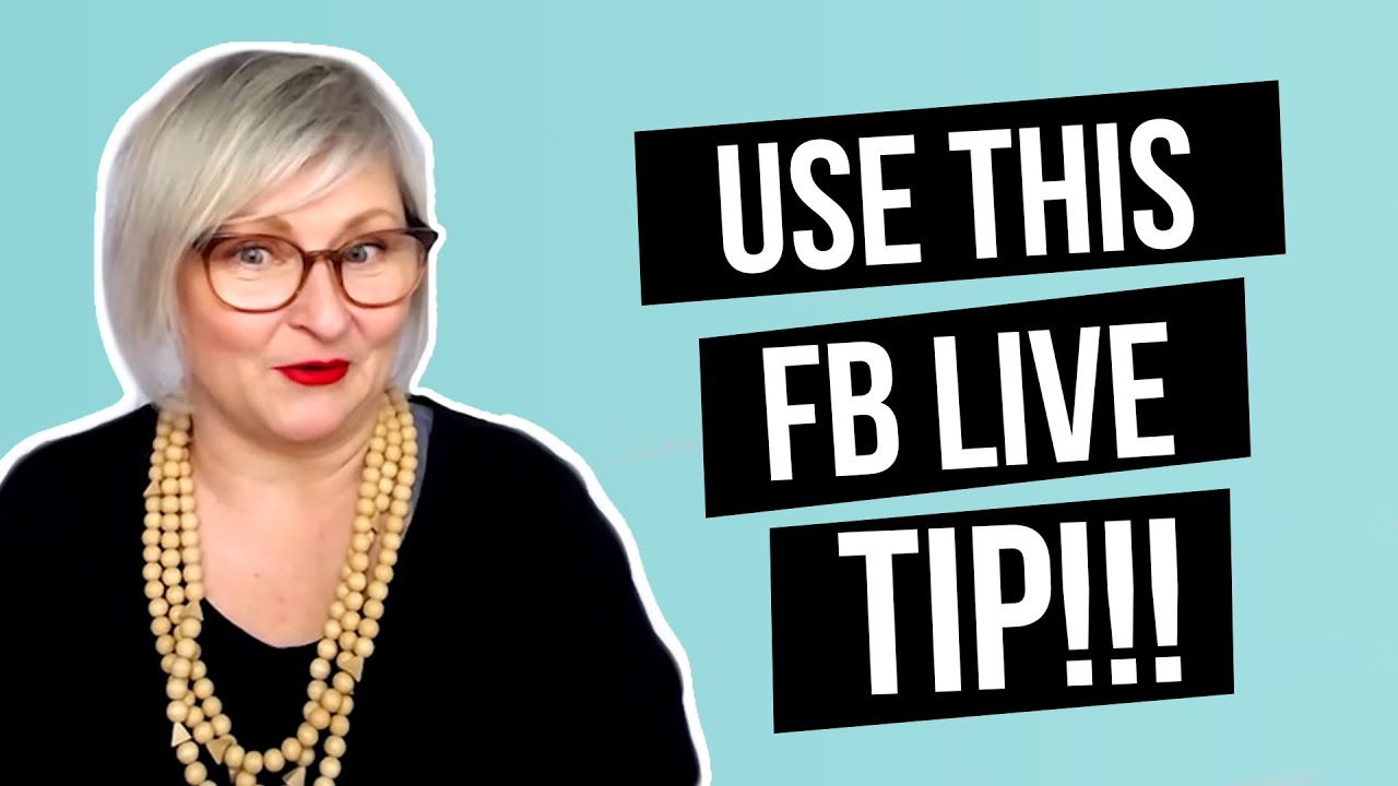 How to Use Facebook Live to Get Confidence Presenting   Jenny De Lacy