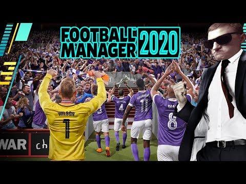 Football Manager 2020. Классическое начало за безработного (стрим)