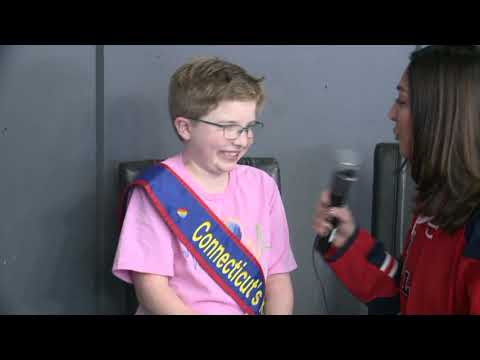 FOX61's Rachel Lutzker Had A Chat With Connecticut's Kid Governor - Ella Briggs