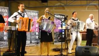 Karène Neuville, Damien Poyard, Jérôme et Gilles Robert La Marche Portugaise