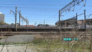 JR東日本・笠間大橋近くを行く列車(East Japan Railway)