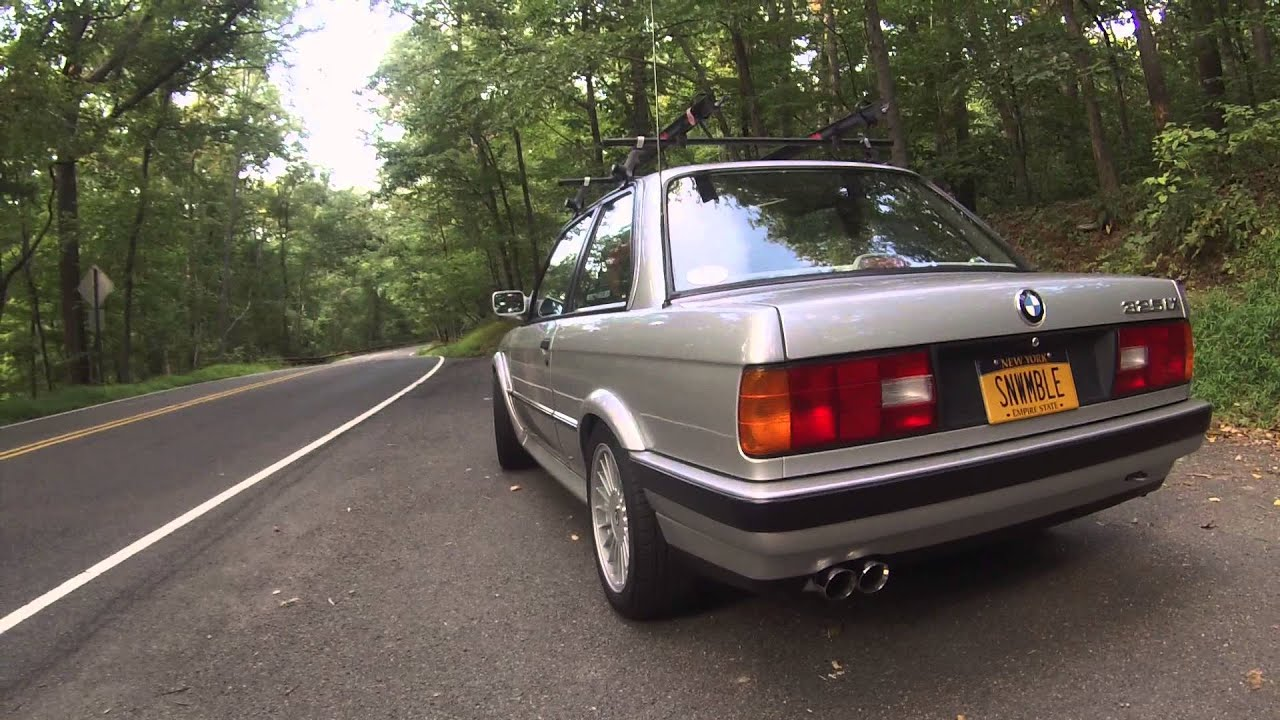 1990 BMW 325IX E30 Magnaflow Exhaust Alpina AWD M20 16535  YouTube