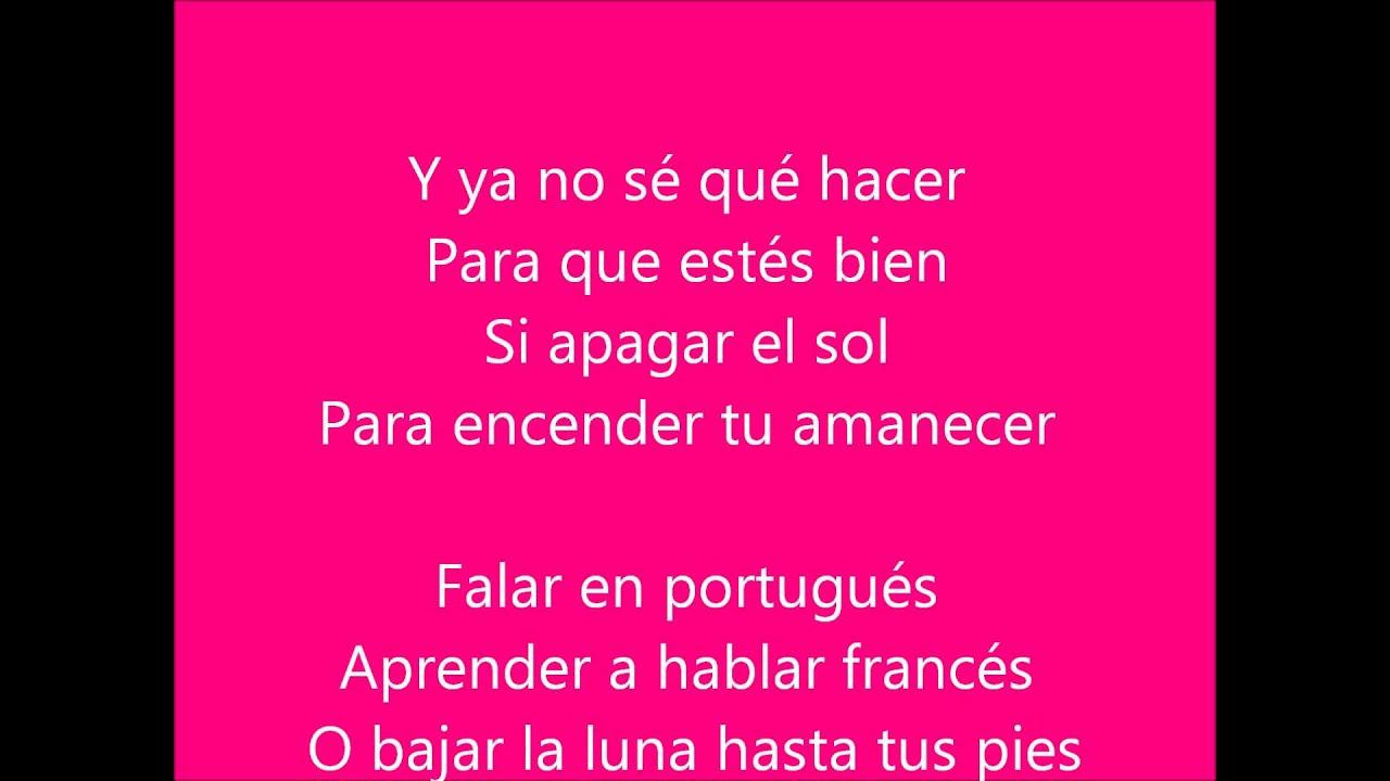 Prince Royce - Darte un beso. Con letra - YouTube