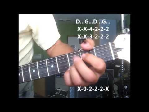 Incense And Peppermints ~ lesson (step by step + solo) The Strawberry Alarm Clock