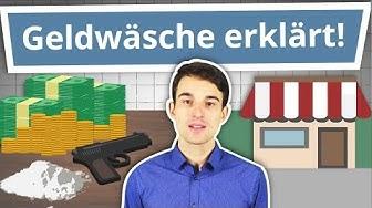 Geldwäsche einfach erklärt! (Mit vielen anschaulichen Beispielen)