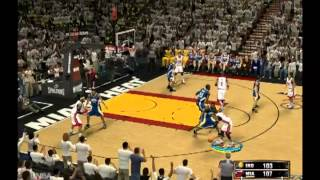 NBA 2K13 (PC Gameplay) Western Conference Finals Indiana Pacers vs Miami Heat..