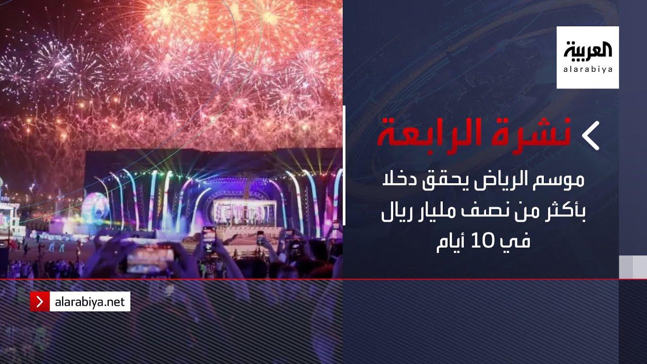 نشرة الرابعة كاملة | موسم الرياض يحقق دخلا بأكثر من نصف مليار ريال في 10 أيام  - نشر قبل 1 ساعة