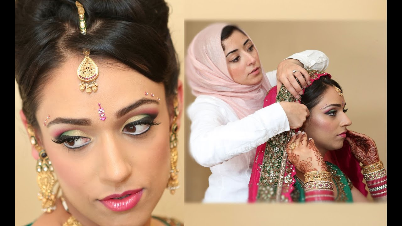 Exotic Asian Bridal Makeup Tutorial Real Bride ...