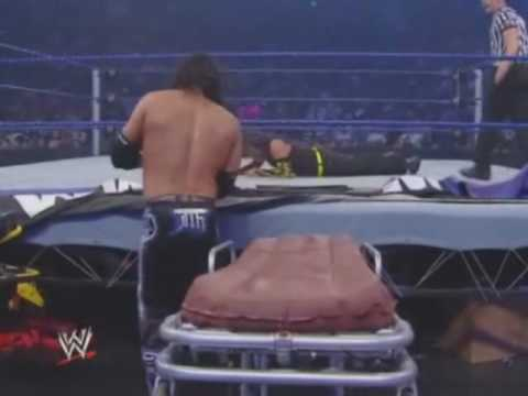 WWE Jeff Hardy vs Matt Hardy - Strecher Match (Part 2/2)