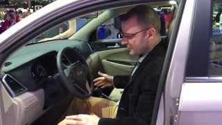 Мировая премьера Hyundai Tucson