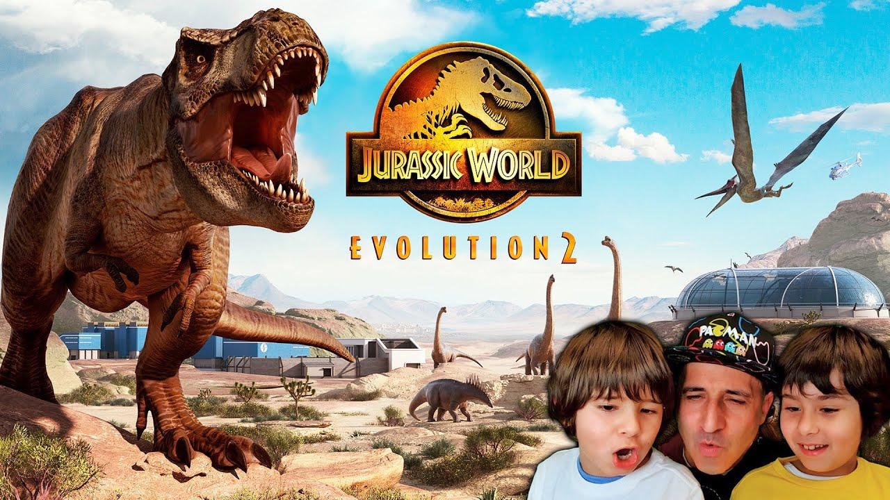 Dani y Evan reaccionan a JURASSIC WORLD EVOLUTION 2