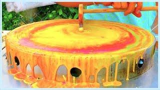 Street Foods - The Japanese LAVA Crepe | Crispy Tin Butter Pancake | Indian Street Food