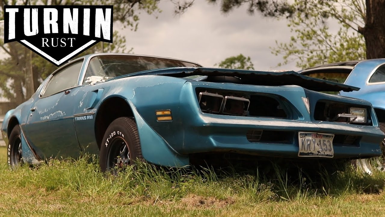 Download Abandoned 1978 Pontiac Trans Am Driven From Grave After 10 Years   Turnin Rust