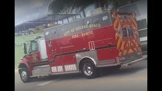 Delray Beach Fire Rescue Medic 112 Transporting