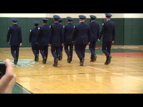 Airforce ROTC Practice at Louis E. Dieruff High School