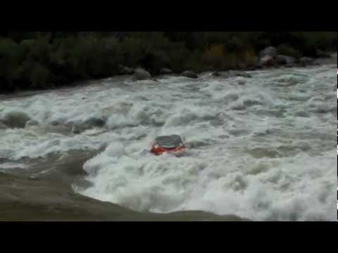 HD Lava Falls Ledge Hole DOUBLE BAD DAY DISASTER epic raft carnage fail closeup!!!!!!