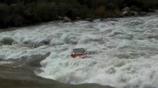hd lava falls ledge hole double bad day disaster epic raft carnage fail closeup