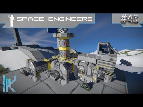 Let's Play Space Engineers - E43: Starting Construction On The New Spaceship!