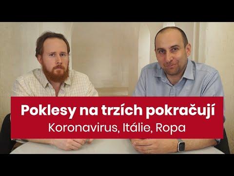 Jak Investoři Reagují Na černé Pondělí Na Trzích: Koronavirus, Pokles Ceny Ropy, Itálie V Karanténě