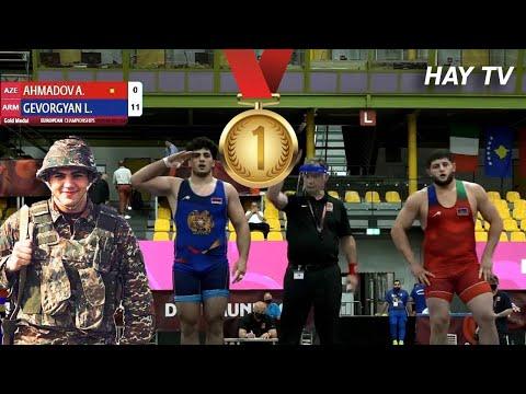 Армянин взял золото победив азербайджанца