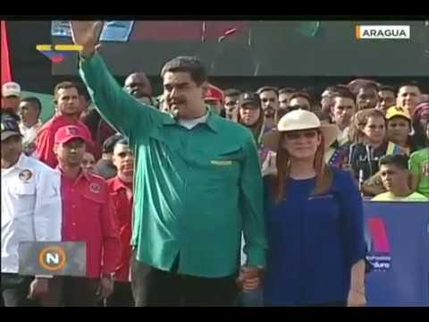 Nicolás Maduro en el estado Aragua: Plan Chamba Juvenil llega a 1 millón de jóvenes